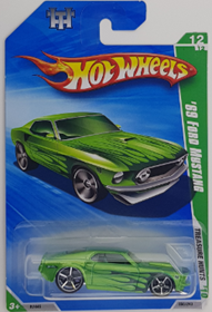 Picture of 2010 65 Chevy Malibu Rare Short Card Treasure Hunts cars