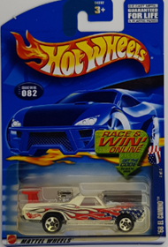 Picture of 2002 68 El Camino Mattel Wheels cars.