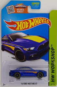 Picture of 2015 15 Ford Mustang GT Blue HW Workshop cars.