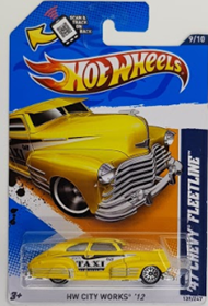 Picture of 2012 47 Chevy Fleetline Taxi Yellow #9of10 HW City Works cars