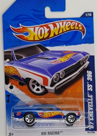 Picture of 2011 67 Chevelle SS 396 #1of10 HW Racing cars.