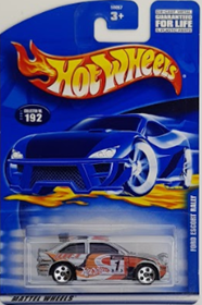 Picture of 2001 Ford Escort Rally #192 Mattel Wheels cars.