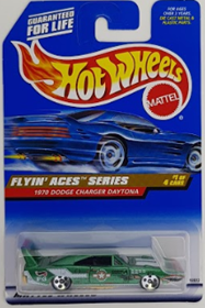 Picture of 1970 Dodge Charger Daytona Mattel Wheels Flyin' Aces Series