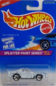Picture of 1996 80s Camaro Z-28 #4of4 Splatter Paint Series