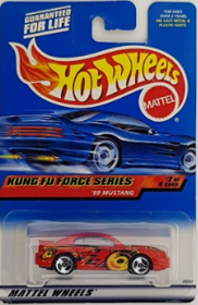 Picture of 19999 Mustang #2of4 Kung Fu Forces Series.