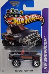 Picture of 2013 1987 Toyota Pickup Truck Black HW Showroom.