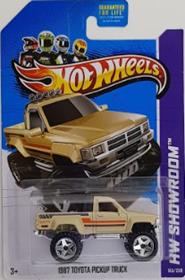 Picture of 2013 1987 Toyota Pickup Truck Cream HW Showroom cars.
