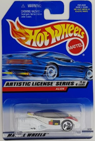 Picture of 1999 Alien #1of4 Artistic Licence Series cars.