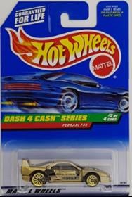 Picture of 1998 Ferrari F40 #2of4 Dash 4 Cash Series.