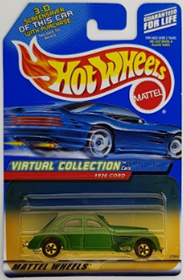 Picture of 1936 Cord  Green Mattel Wheels Virtual Collection