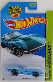 Picture of '69 Corvette Blue #214 HW Workshop
