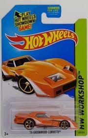 Picture of '76 Greenwood Corvette Orange HW Workshop