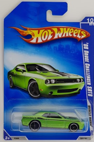 Picture of 2009 08 Dodge Challenger SRT8 #10 Green Muscle Mania