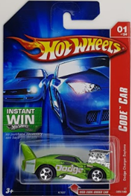 Picture of 2007 Dodge Charger Daytona #01 Green Code Car.
