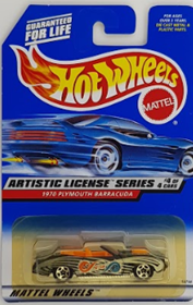 Picture of 1998 1970 Plymouth Barracuda #4of4 Artistic License Series