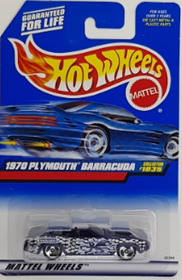 Picture of 1998 1970 Plymouth Barracuda #1035 Mattel Wheels