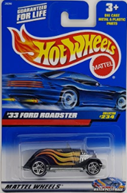 Picture of 2000 33 Ford Roadster #234 Mattel Wheels