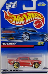 Picture of 1998 '57 Chevy #1077 Mattel Wheels