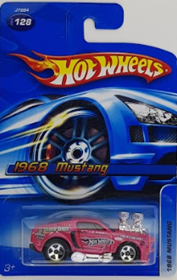 Picture of 1968 Mustang #128 2006 Hot Wheels