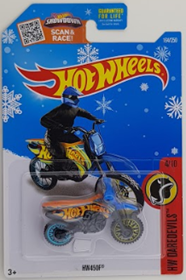 Picture of HW450F #4of10 HW Daredevils Snow Flake Card