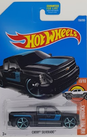 Picture of Chevy Silverado Black #10of10 HW Hot Trucks