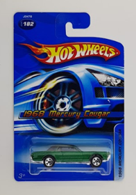 Picture of 1968 Mercury Cougar #182 Green  Mattel