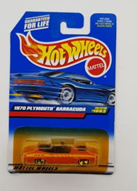 Picture of 1970 Plymouth Barracuda #1063 Mattel Wheels