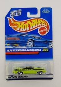 Picture of 1970 Plymouth Barracuda #523 Mattel Wheels