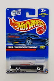 Picture of 1964 Lincoln Continental #237 Black, Mattel Wheels