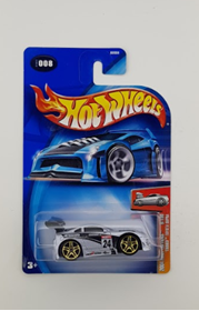 Picture of Tooned Toyota Supra Silver #008 2004 First Editions
